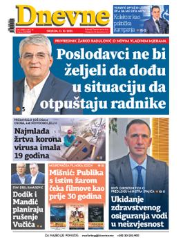 dnevnenovine/13. oktobar 2021.